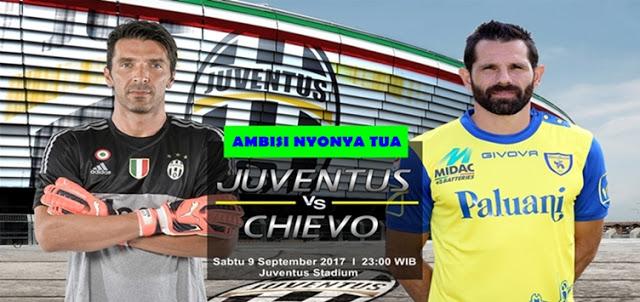 Juventus vs Chievo 9 September 2017