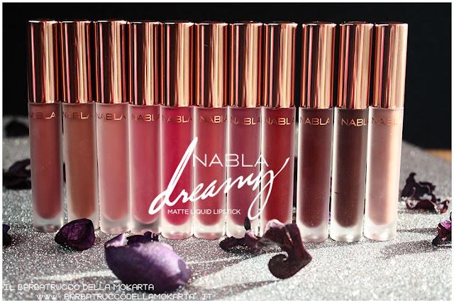 Dreamy Matte Liquid Lipstick rossetti liquidi nabla cosmetics
