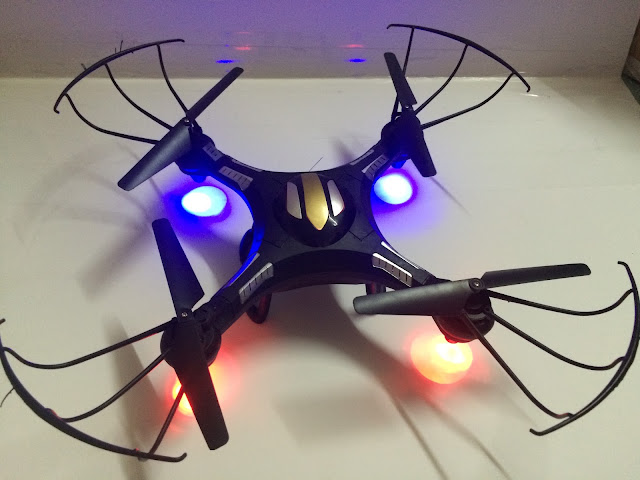 Hình ảnh thực tế máy bay UFO drone SCN006_3