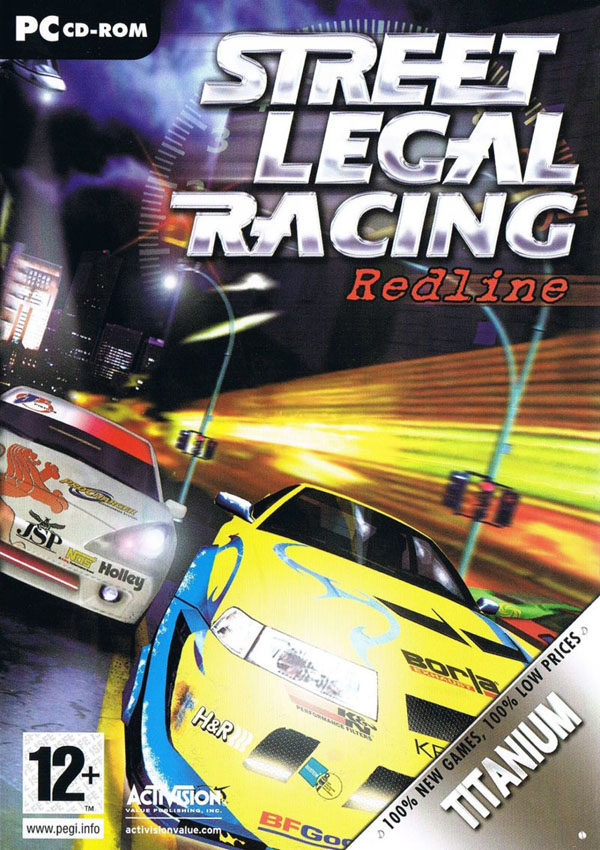 Street Legal Racing Redline Download Cover Free Game