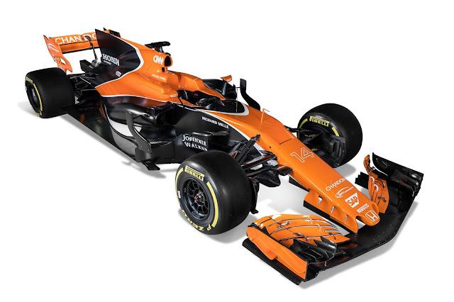 Warna mobil McLaren F1.