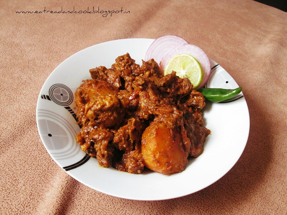 how to cook bengali style kosha mangsho