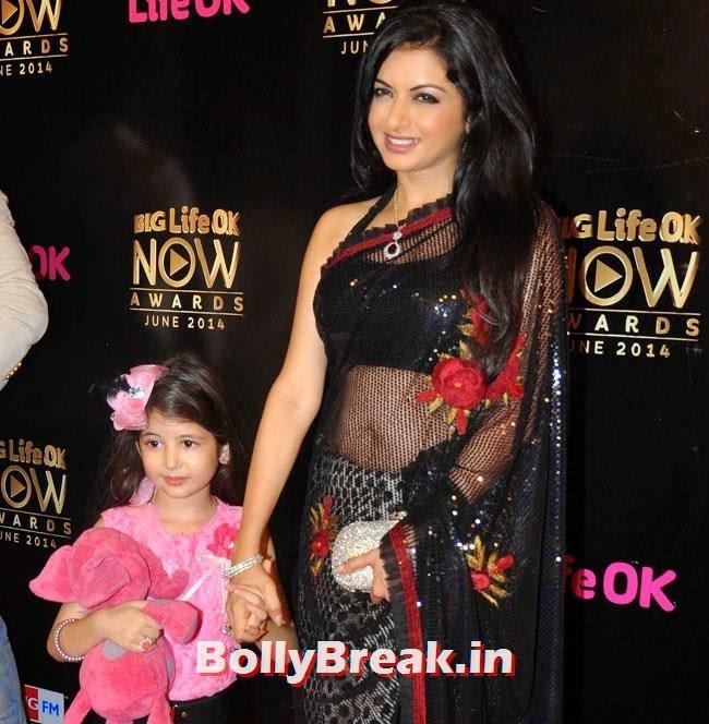 Bhagyashree, Life OK Now Awards 2014 Red Carpet Pics