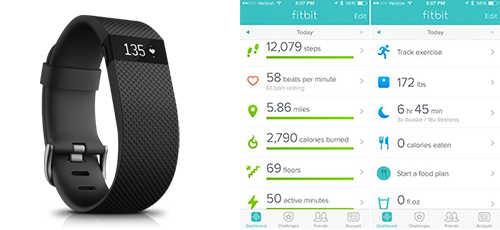 Avis Fitbit charge HR