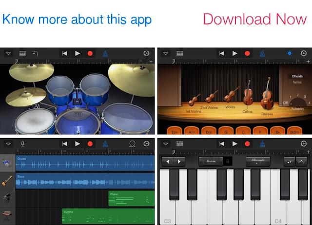 Download GarageBand for iOS