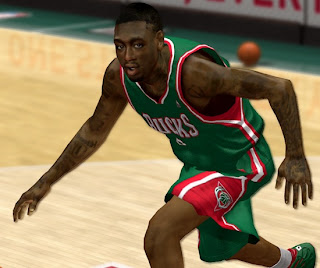 NBA 2K13 Larry Sanders Cyber Face Mod