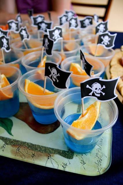 Megan from Food and Whine came up with a creative pirate-themed snack.