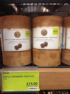 Marks & Spencer Apple Cinnamon Truffles