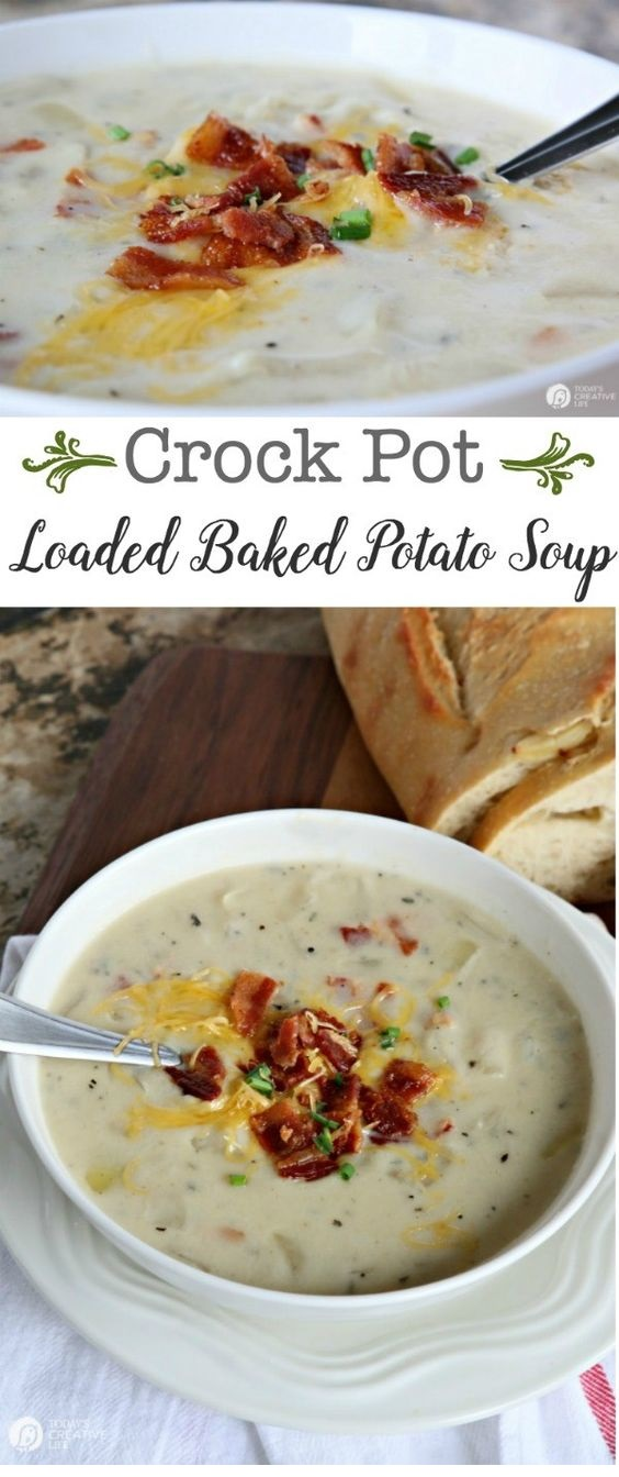 Crock Pot Potato Soup