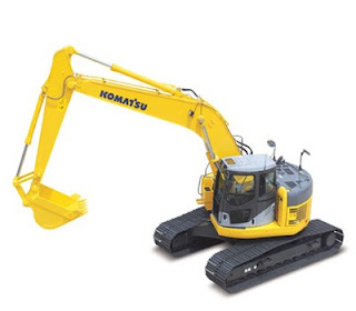 KOMATSU EXCAVATOR SHOP MANUAL PC 228US-3