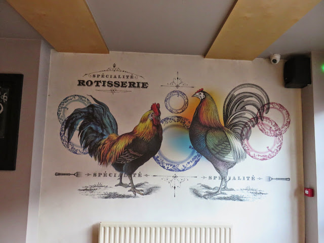 Wall Decorations at Camden Rotisserie