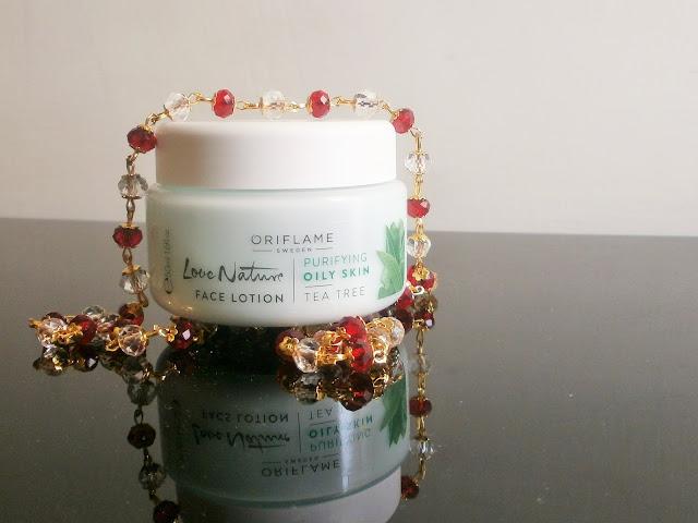 Oriflame Love Nauture Purifying Tea Tree lotion for oily skin