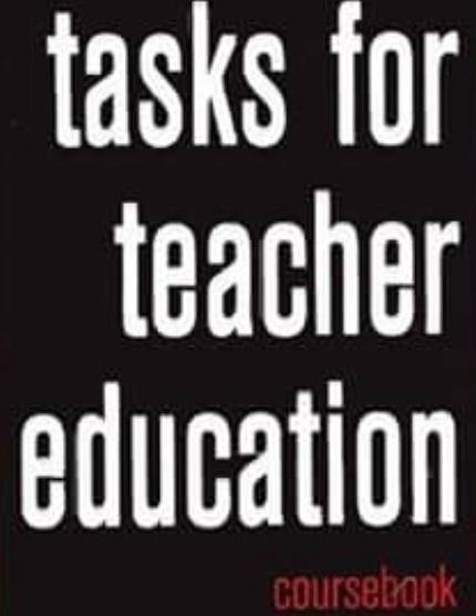 Tasks for Teacher Education