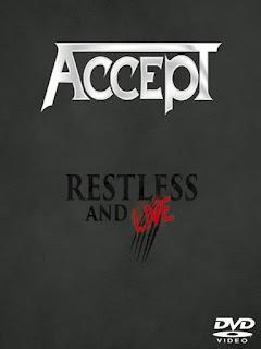 Accept, Restless e Live, DVD, DOWNLOAD