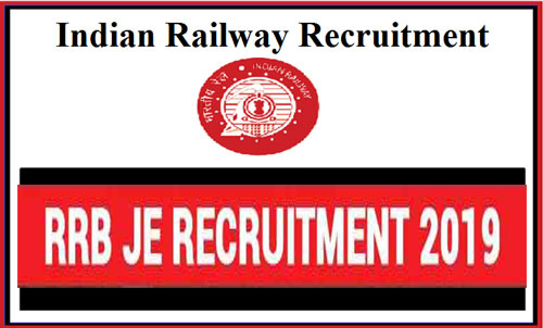 Indian Railway RRB JE Requirement 2019