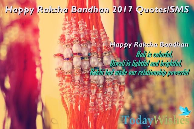 Happy Raksha Bndhan 2017 Quotes