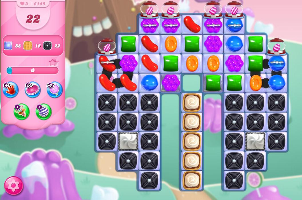 Candy Crush Saga level 6149