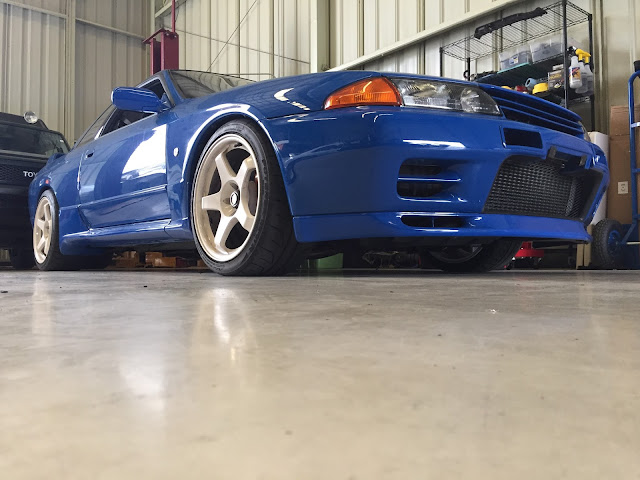 BT2   Championship Blue R32 Nissan Skyline GT R Imported By  Importavehicle.com