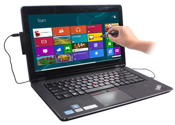 Turn Windows 8 machine into screen touch enabled pc