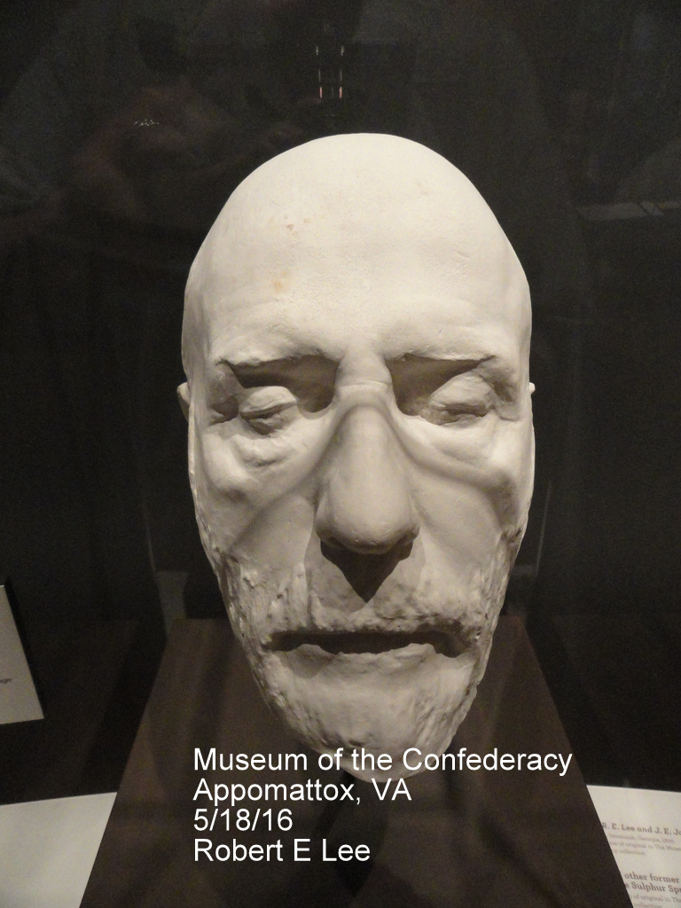 Death Mask Of Robert E Lee