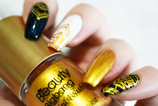 Beauty Big Bang Gold Stamping Polish