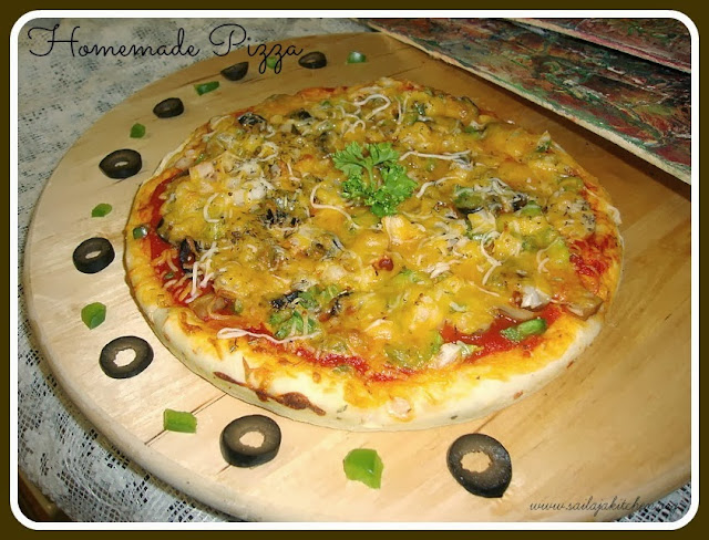 photo of Homemade Vegetable Pizza