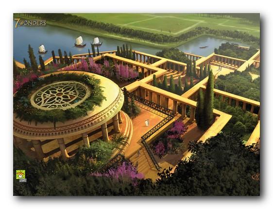 Il giardino dei semplici le 7 meraviglie del mondo antico for Giardini pensili