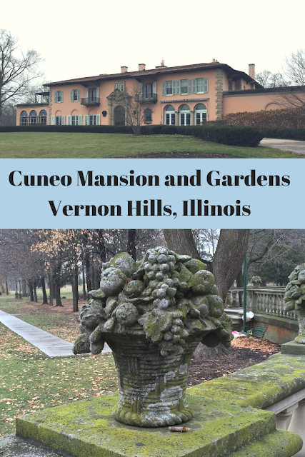 Cuneo Mansion and Gardens in Vernon Hills, Illinois