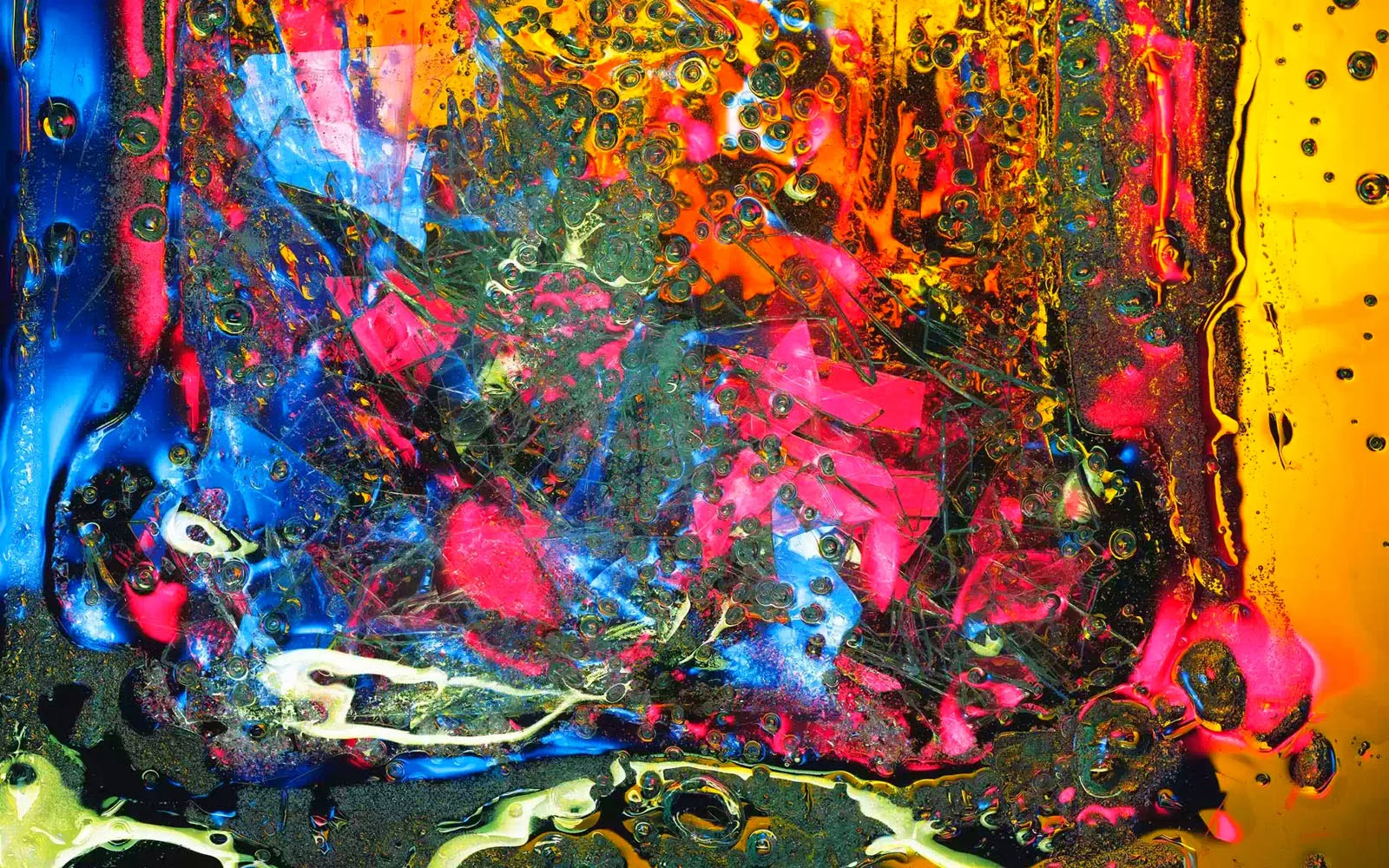 wallpapers: Colourful Glass Art Wallpapers