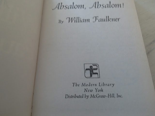 Absalom, Absalom! by William Faulkner ( Book review and recommendation of the day)
