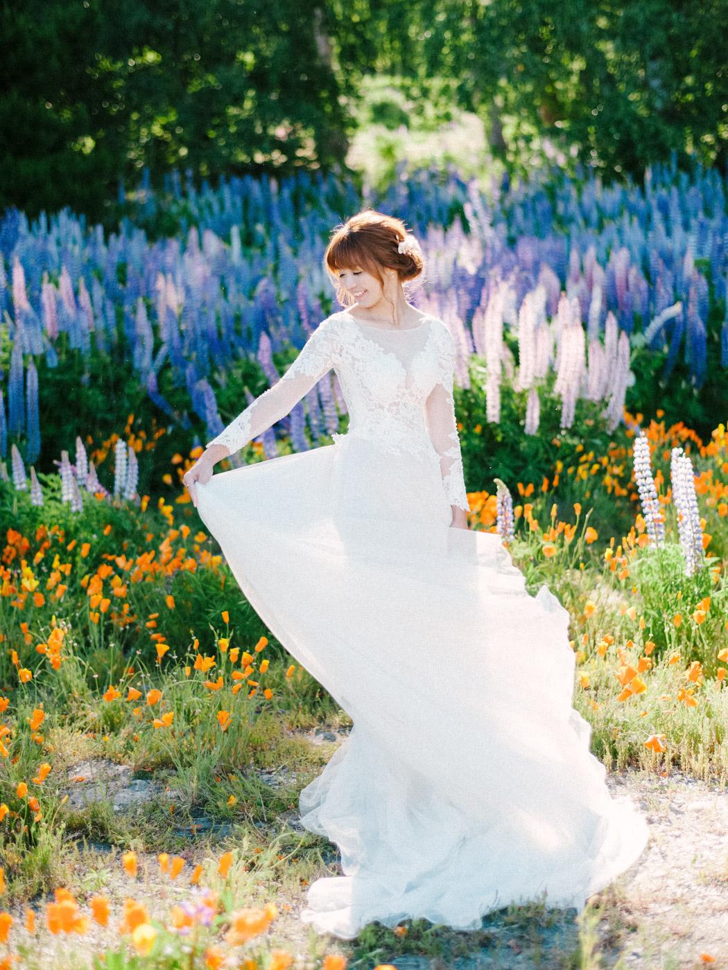 自助婚紗, 海外婚紗, 海外婚紗造型, 紐西蘭, 清新甜美風格, 造型, 新秘阿桂, 新秘阿桂Dabby, 新秘推薦.DABB