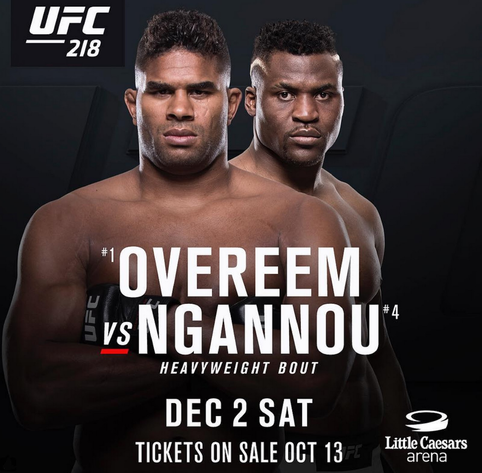 ALISTAIR OVEREEM VS FRANCIS NGANNOU 3