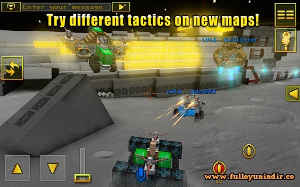Blocky Cars Online Apk indir