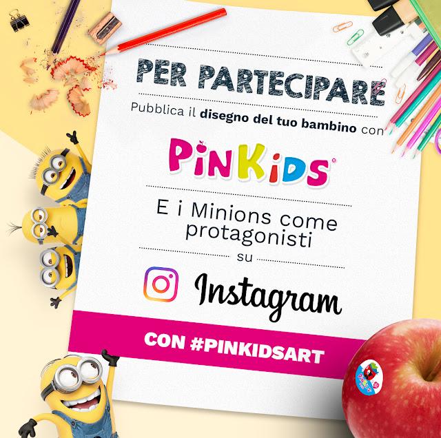 Con PinKids, la mela perfetta per i bambini, vinci i Minions