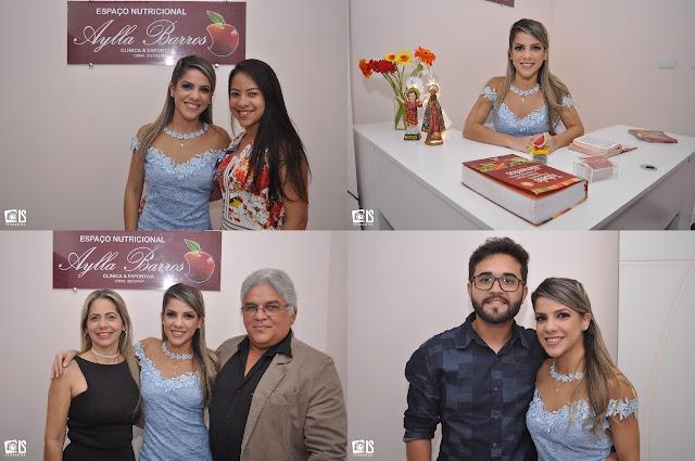 Requintado Coquetel de lançamento, marca inauguração do Espaço Nutricional Aylla Barros em Buíque