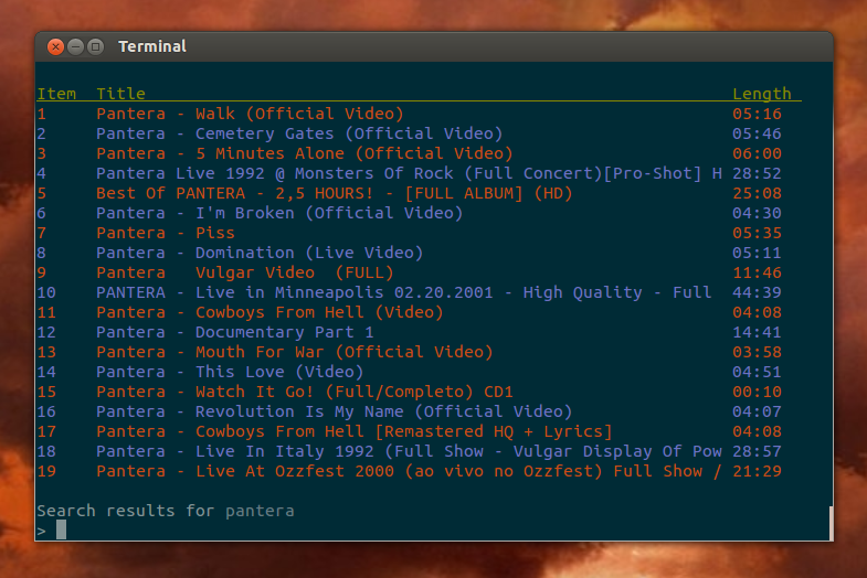 New Command Line YouTube Player And Downloader With Local