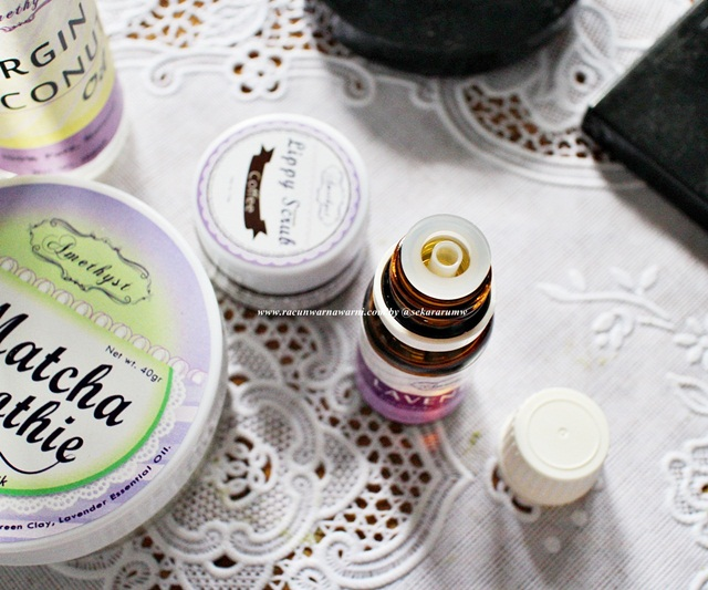 Bentuk Tutup Lavender Oil