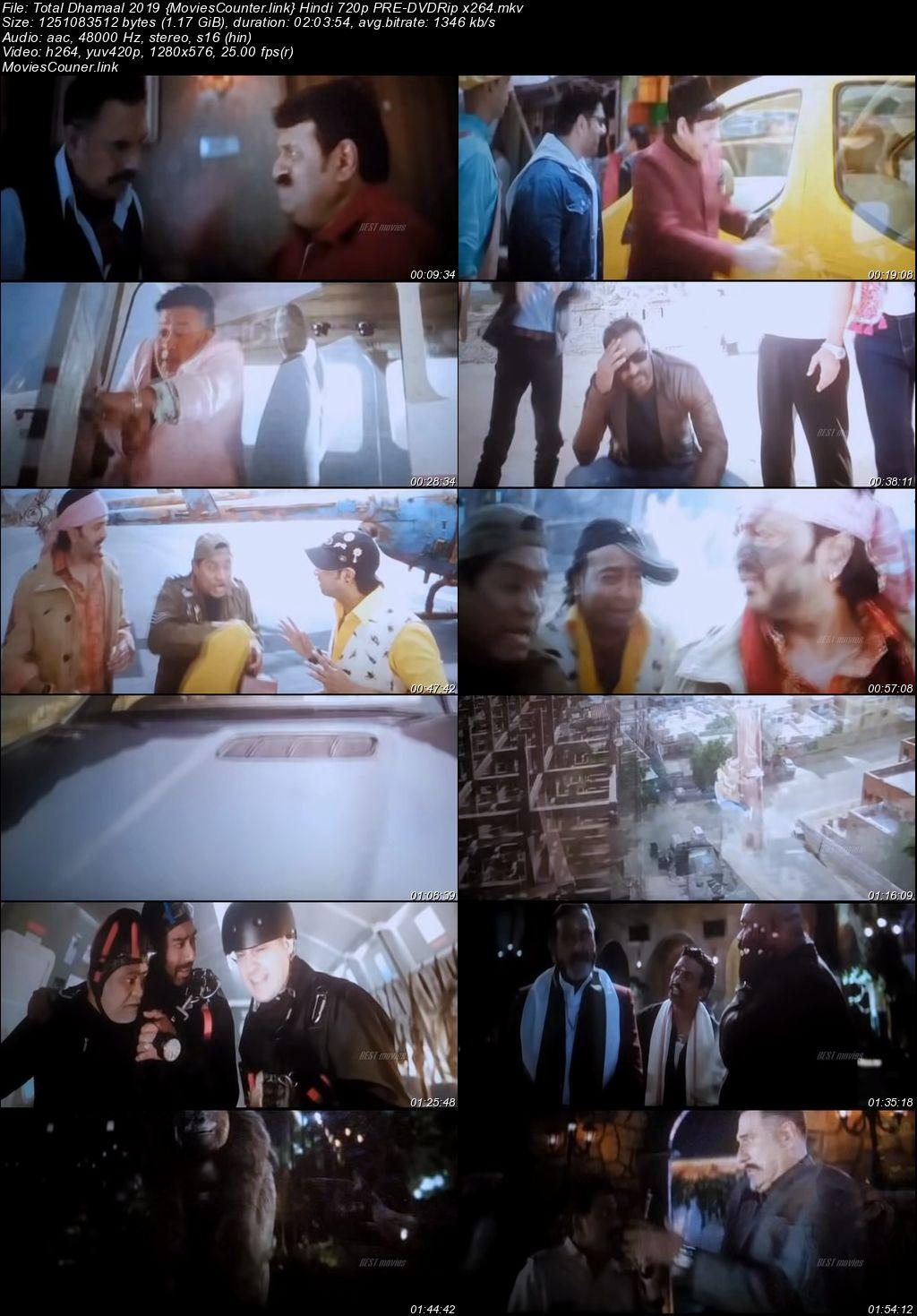 Screen Shots Total Dhamaal 2019 Hindi HD 720p