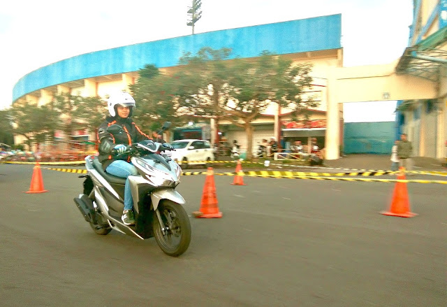 Test ride Honda All Vario 150
