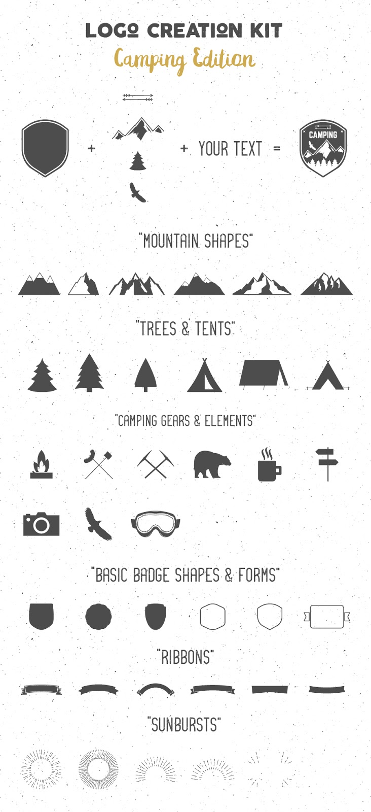 Download Logo Creation Kit Camping Edition Free