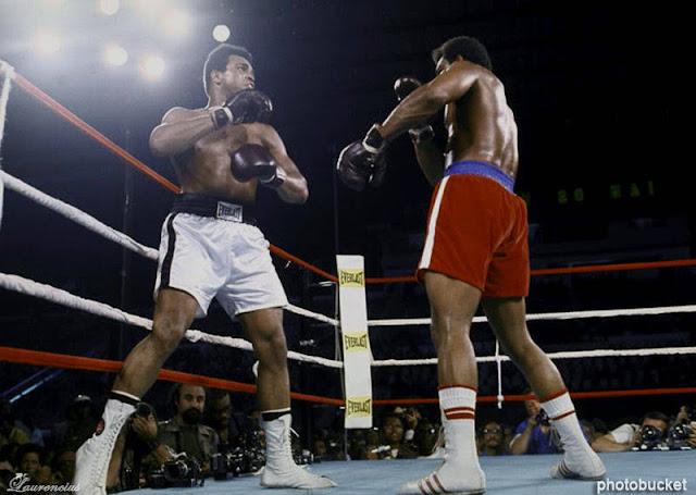 Tinju-Muhammad ali VS George Foreman