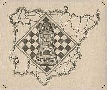 Emblema del Club d'Escacs Ibèria