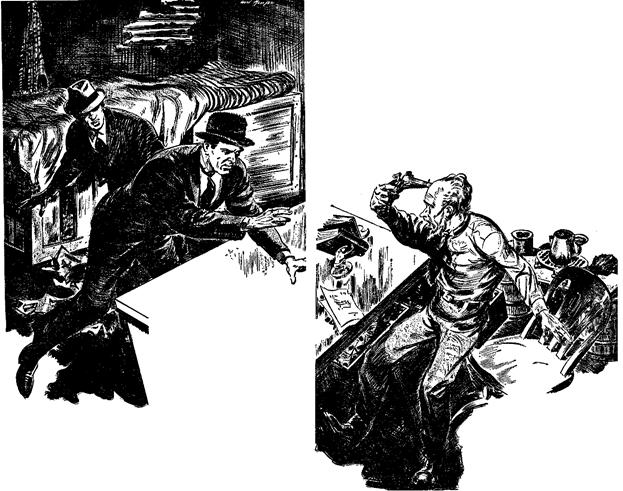 Dime Detective June 1943 - The Nervous Doorbell - Merle Constiner