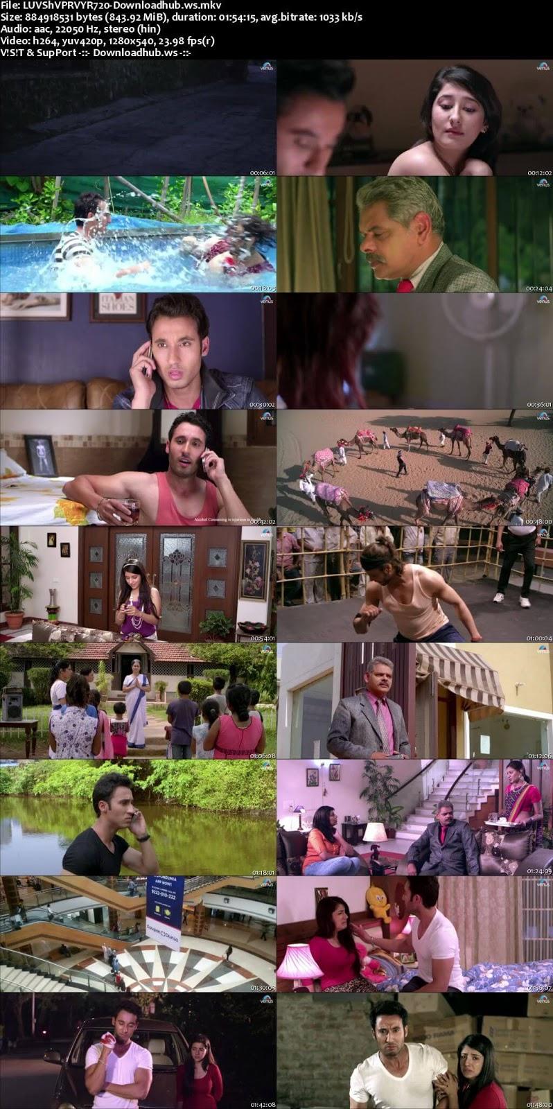 Luv Shuv Pyar Vyar 2017 Hindi 720p HDRip