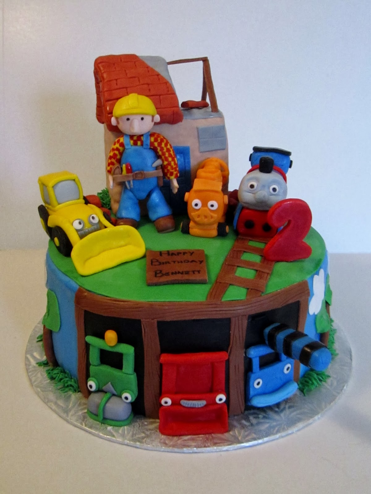Bob The Train Birthday Cake