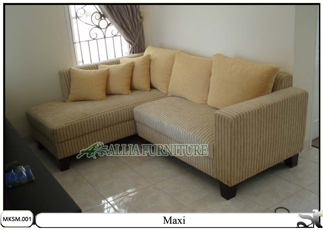 Kursi Sofa Minimalis Set Model Maxi Allia Furniture