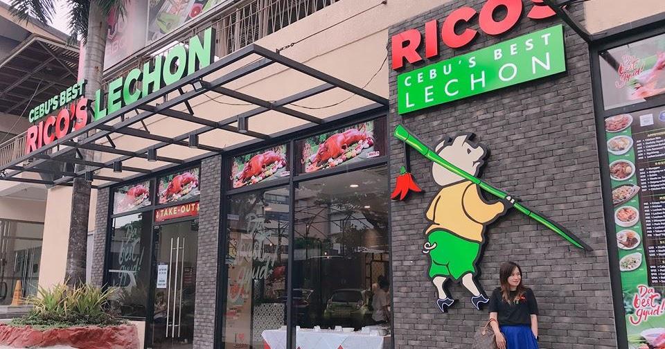 Lemon GreenTea: Rico's Lechon is now open in Food Village
