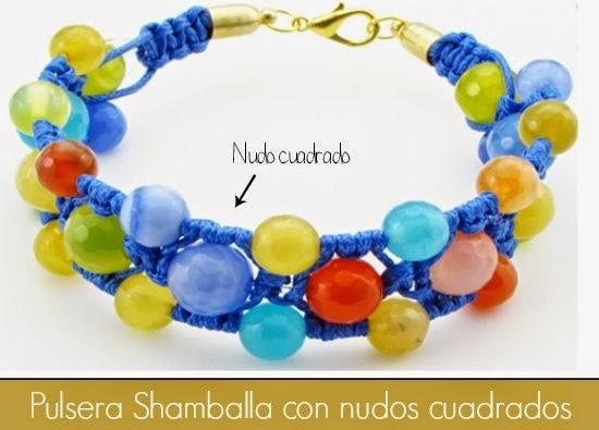 Pulsera Shamballa Diy. Los colores del verano