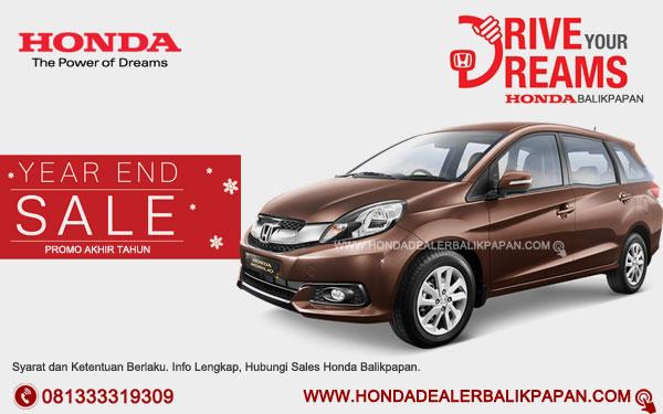 Promo Akhir Tahun Honda Mobilio Balikpapan