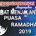 Selamat Menjalankan Puasa Ramadhan 1440 H